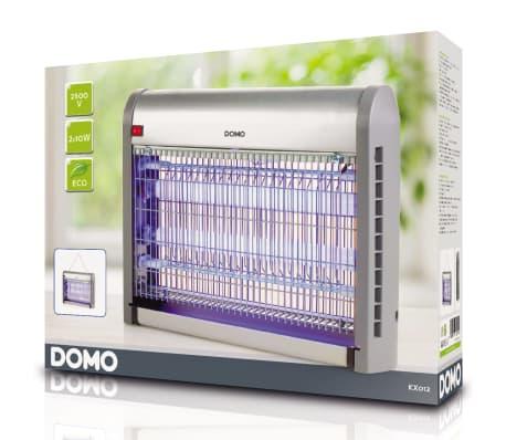 DOMO Lámpara antimosquitos con luz UV 20 W 2500 V plateada[6/6]