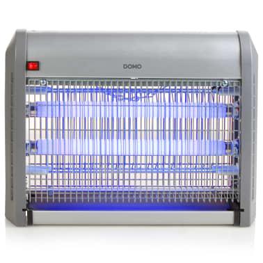 DOMO Lámpara antimosquitos con luz UV 20 W 2500 V plateada[2/6]