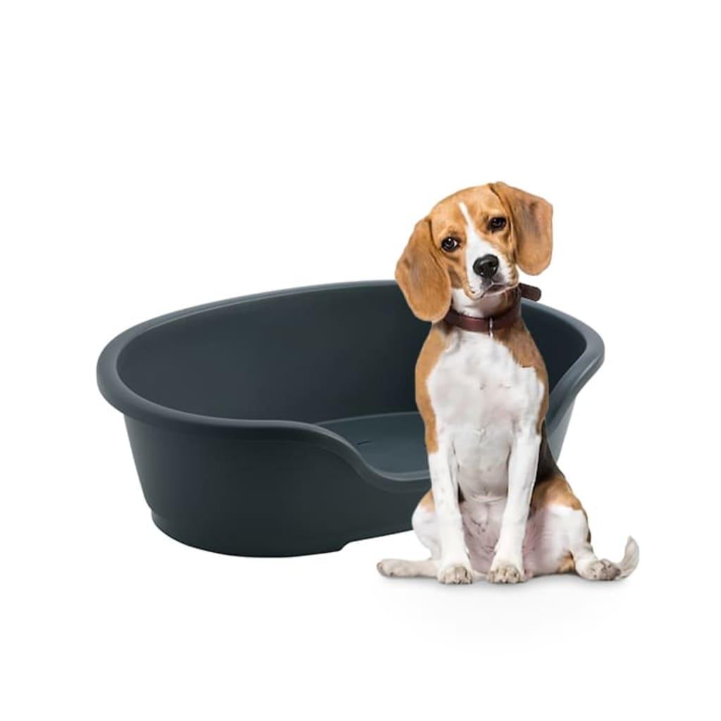 Hondenmand Kunststof Antraciet