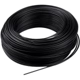 Profile Installation Wire Roll Black 1,5 mm Dia 100 m Length