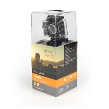 HD Toimintakamera 720P, Musta[4/6]