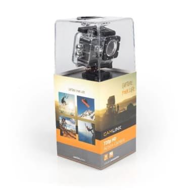 HD Toimintakamera 720P, Musta[5/6]