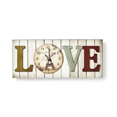 Kehystetty seinäkello - LOVE-design[1/3]