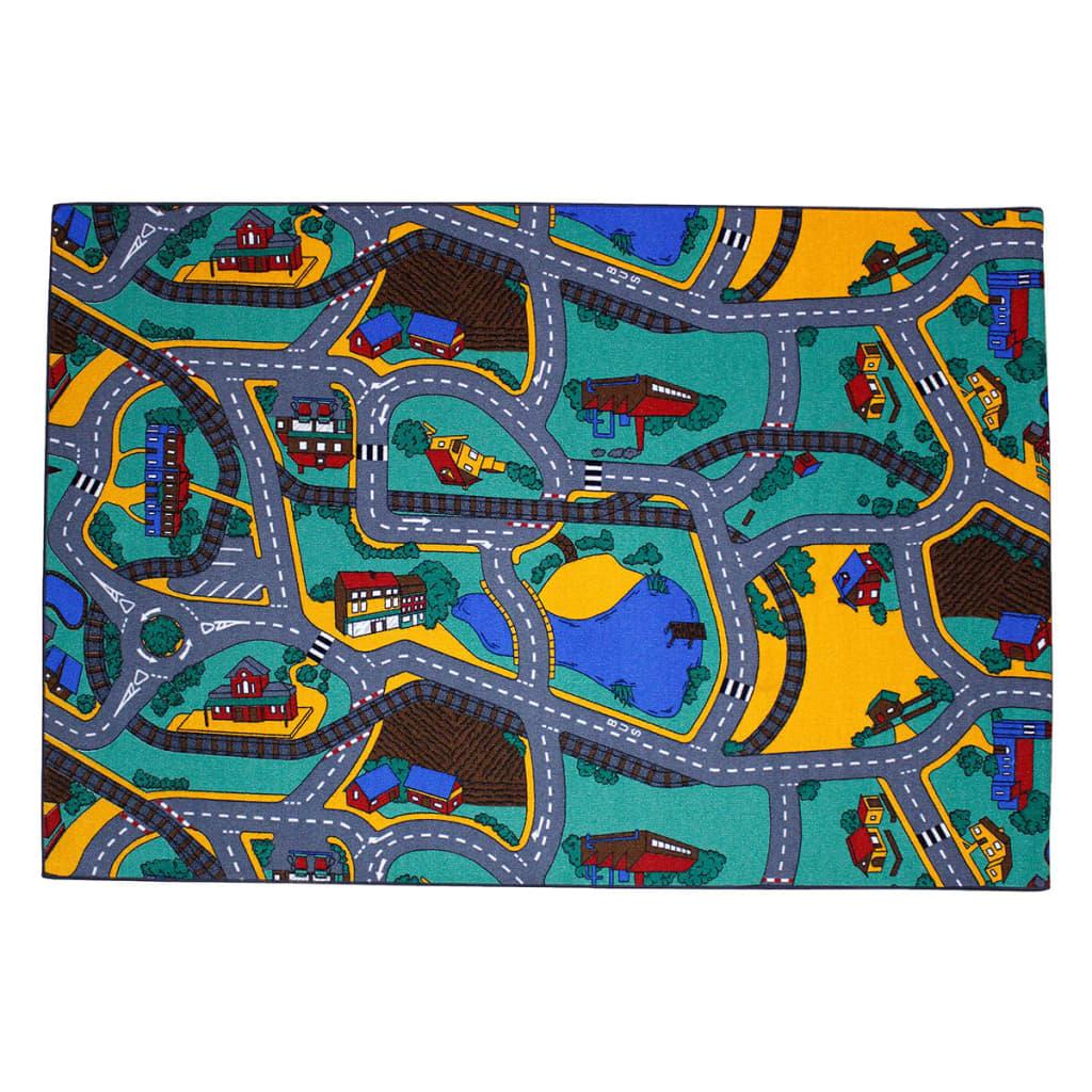 Afbeelding van AK Sports Speeltapijt Playtime verkeersmotief 140x200 cm 0309006