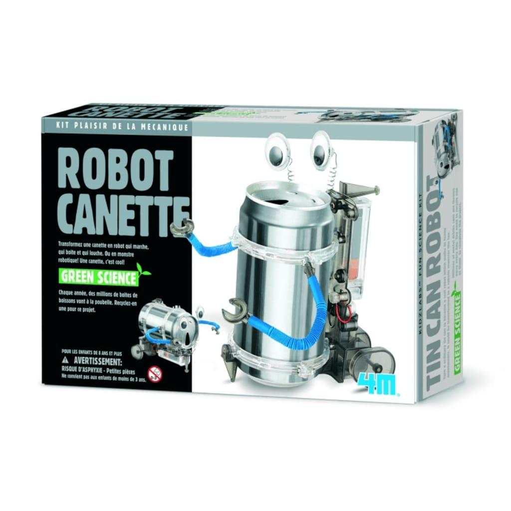 Afbeelding van 4M Fun Mechanics Kit: TIN Can Robot Franstalige Versie