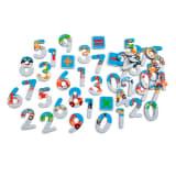 Scratch Magneten 123: stad 60 stuks