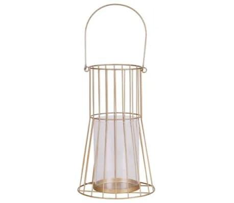 Lanterne design métal Gold Home - Doré