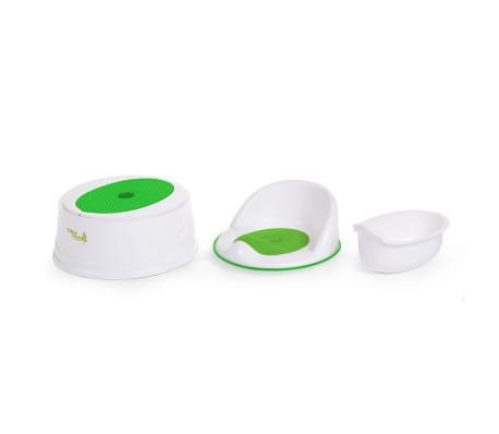 CHILDWOOD 3-in-1 Töpfchen Grün und Weiß CHPSTG[2/2]