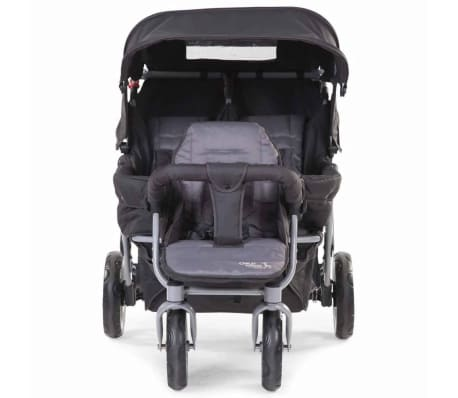 CHILDWHEELS Drillinge-Kinderwagen Anthrazit CWTRIP[2/8]