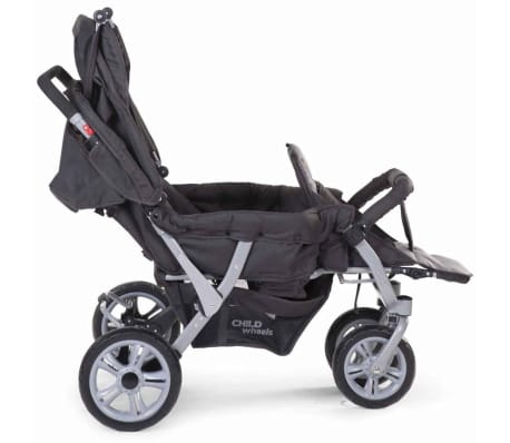 CHILDWHEELS Drillinge-Kinderwagen Anthrazit CWTRIP[5/8]