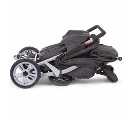 CHILDWHEELS Drillinge-Kinderwagen Anthrazit CWTRIP[7/8]