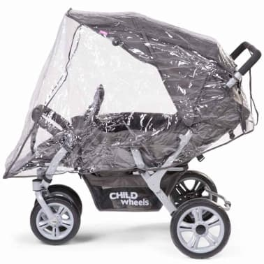 CHILDWHEELS Drillinge-Kinderwagen Anthrazit CWTRIP[6/8]