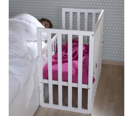 childwood baby beistellbett 50x90 cm buche wei bscnwi g nstig kaufen. Black Bedroom Furniture Sets. Home Design Ideas