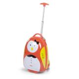 CHILDWHEELS Trillekoffert til barn 17 L fugl oransje