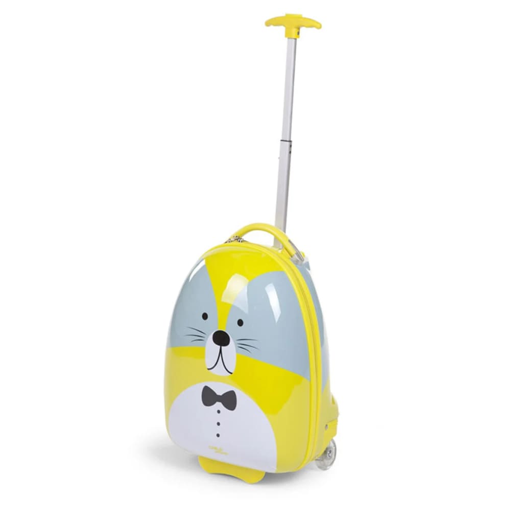 CHILDWHEELS Trillekoffert til barn 17 L vaskebjørn limegrønn CHTRWG
