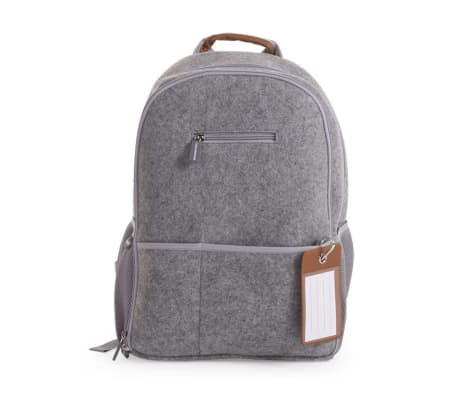 Childwood Nursery Backpack Felt 45x32x20 Cm Light Grey Ccfnbpg 1 4