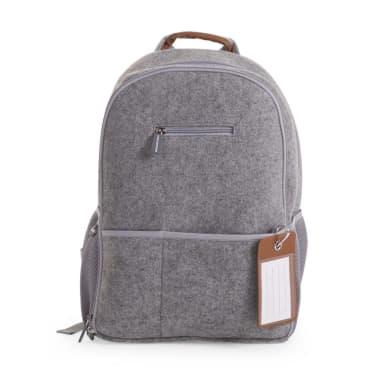 Childwood Nursery Backpack Felt 45x32x20 Cm Light Grey Ccfnbpg 1 4