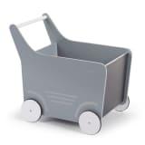 CHILDWOOD Houten speelgoed wandelwagen grijs WODSTRW