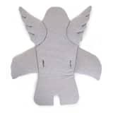 CHILDWOOD Universeel stoelkussen engel katoen grijs CCASCGR