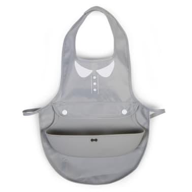 CHILDWOOD Lätzchen Bluse mit Auffangschale Grau CHBIBGGB[2/2]