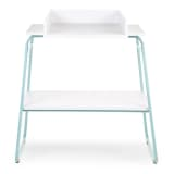 CHILDWOOD Changing Table Wood Mint and White CHTIMB