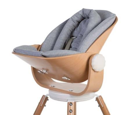 CHILDHOME Kinderstoelkussen Evolu Newborn jersey grijs
