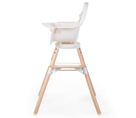 CHILDWOOD 2-in-1 Baby-Hochstuhl Evolu One.80° Weiß CHEVO180NW[3/9]