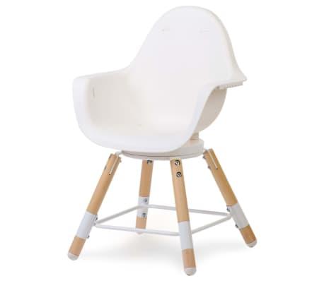 CHILDWOOD 2-in-1 Baby-Hochstuhl Evolu One.80° Weiß CHEVO180NW[4/9]