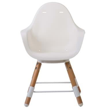 CHILDWOOD 2-in-1 Baby-Hochstuhl Evolu One.80° Weiß CHEVO180NW[5/9]
