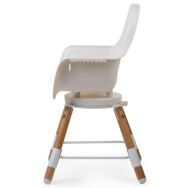 CHILDWOOD 2-in-1 Baby-Hochstuhl Evolu One.80° Weiß CHEVO180NW[6/9]
