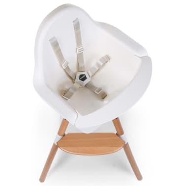 CHILDWOOD 2-in-1 Baby-Hochstuhl Evolu One.80° Weiß CHEVO180NW[7/9]