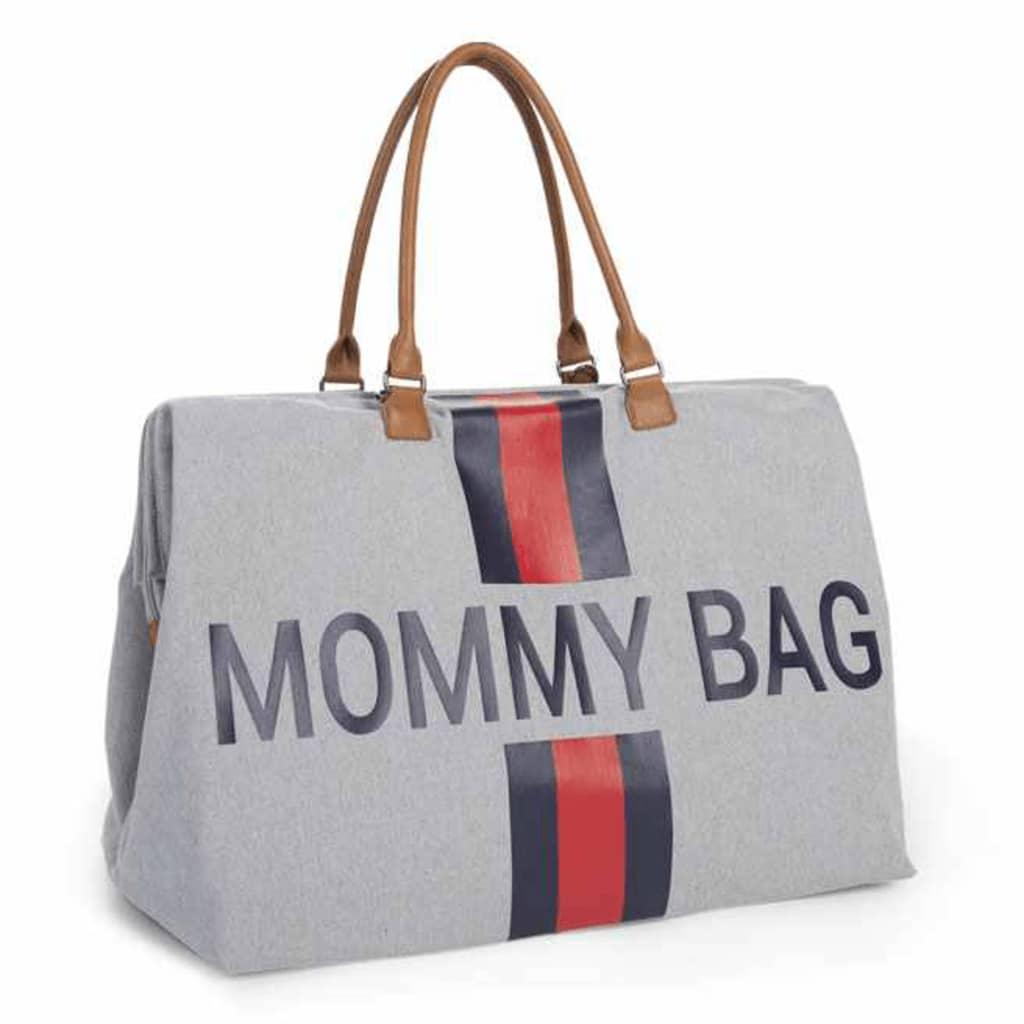 Afbeelding van CHILDHOME Luiertas Mommy Bag canvas grijs