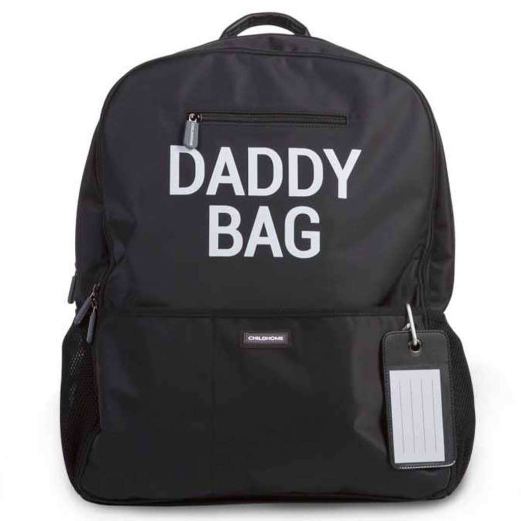 Afbeelding van CHILDHOME Luierrugzak Daddy Bag 40x20x47 cm zwart