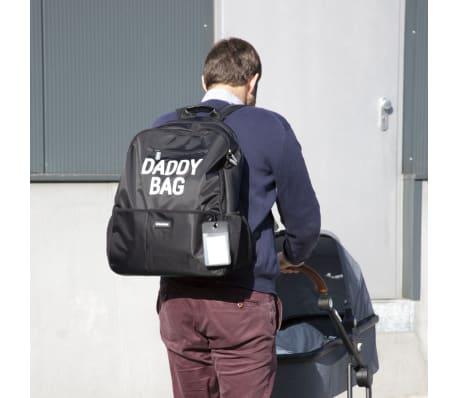 CHILDHOME Torba na pieluszki Daddy Bag, 40 x 20 x 47 cm, czarna[7/8]