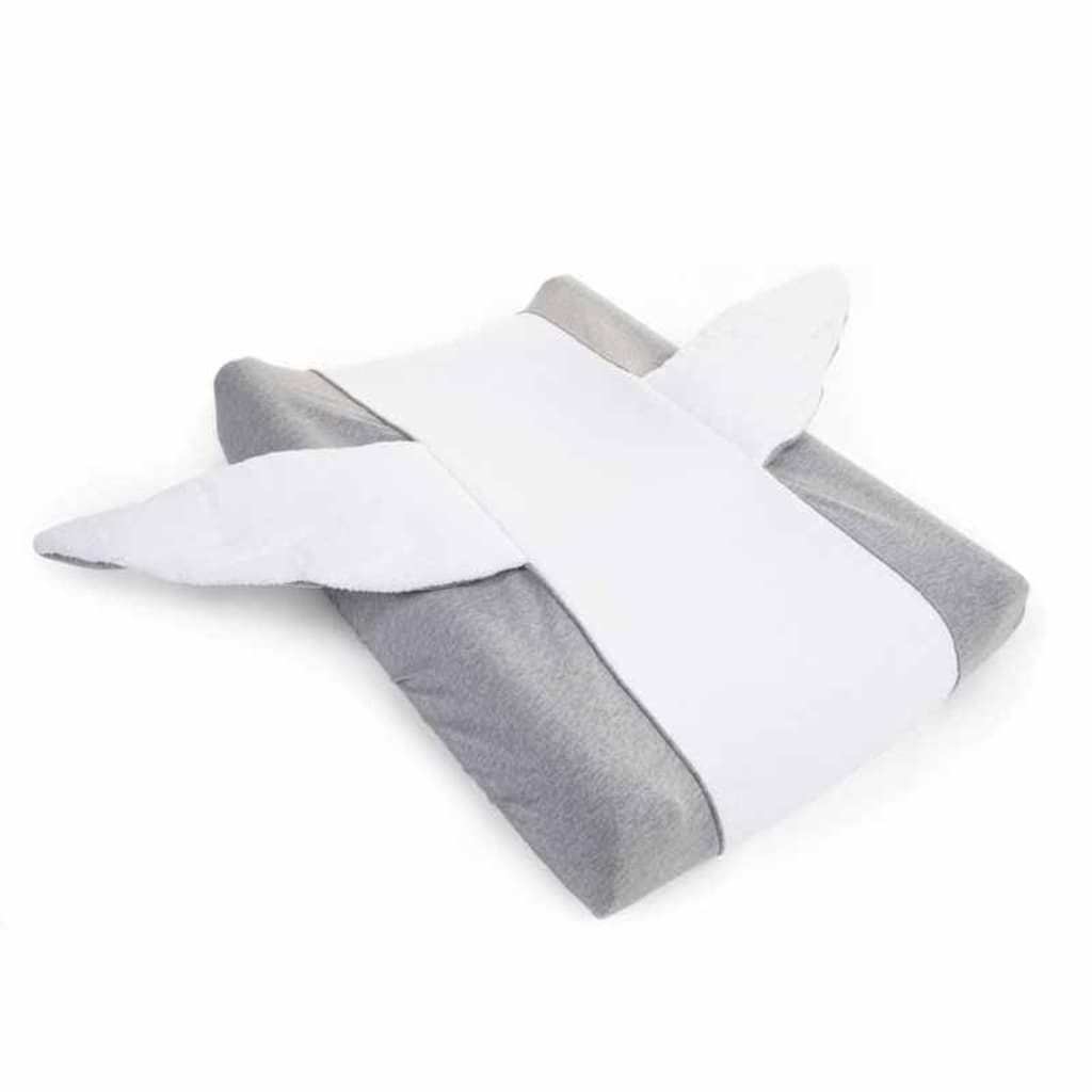 CHILDHOME Aankleedkussenhoes Angel jersey grijs