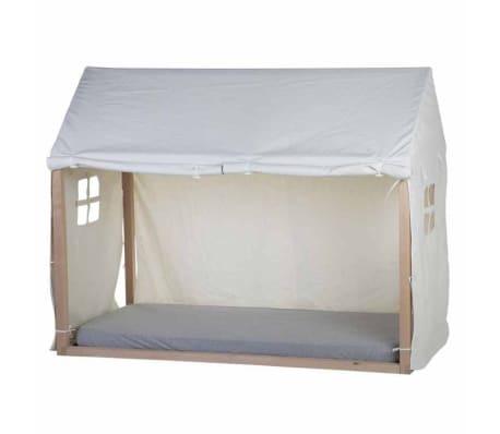 CHILDHOME Cobertura de cama 210x100x150 cm branco