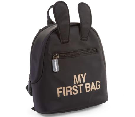 CHILDHOME Kinderrugzak My First Bag zwart
