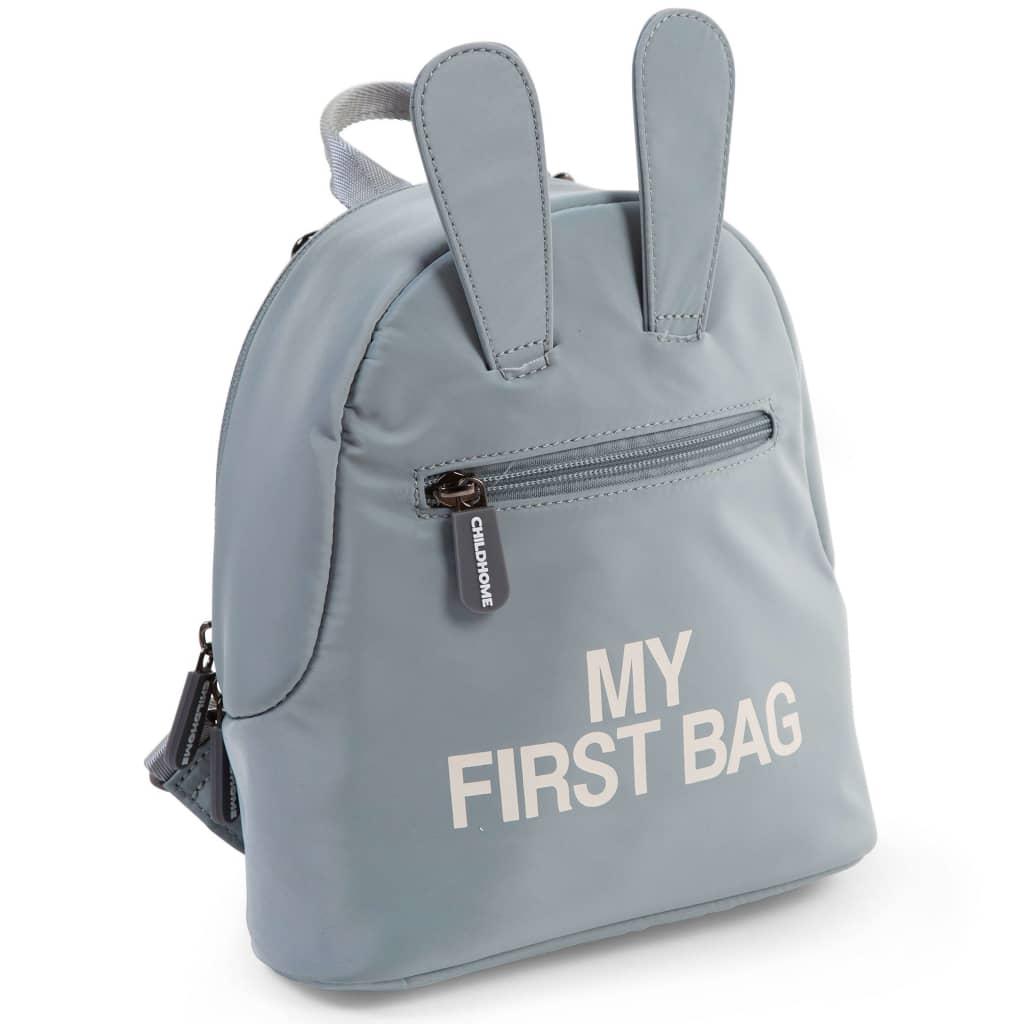 CHILDHOME børnerygsæk My First Bag grå