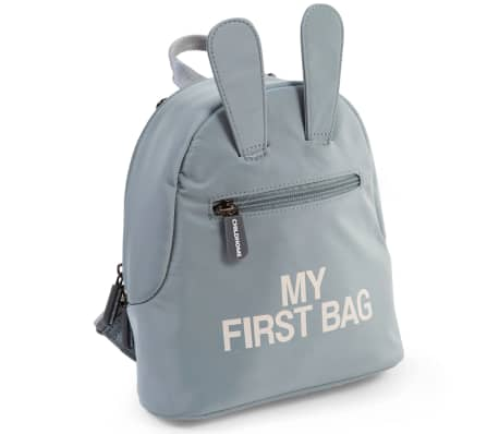 CHILDHOME Sac à dos pour enfants My First Bag Gris