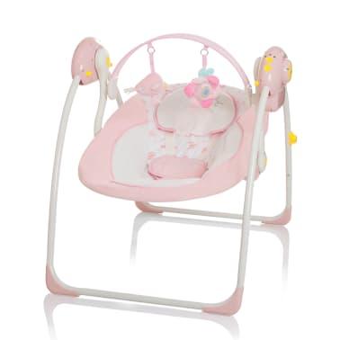 Little World Balançoire pour bébés Dreamday Rose LWBS001-PK[1/4]