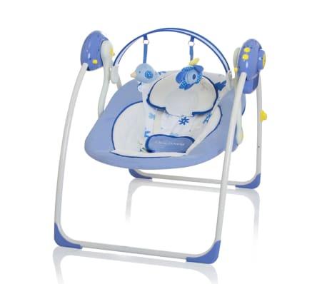 Little World Balançoire pour bébés Dreamday Bleu LWBS001-BL