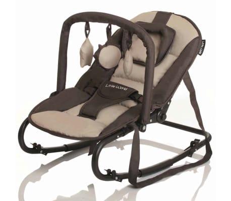 Little World Transat pour bébés Stardust Marron et beige LWBO001-BGBR