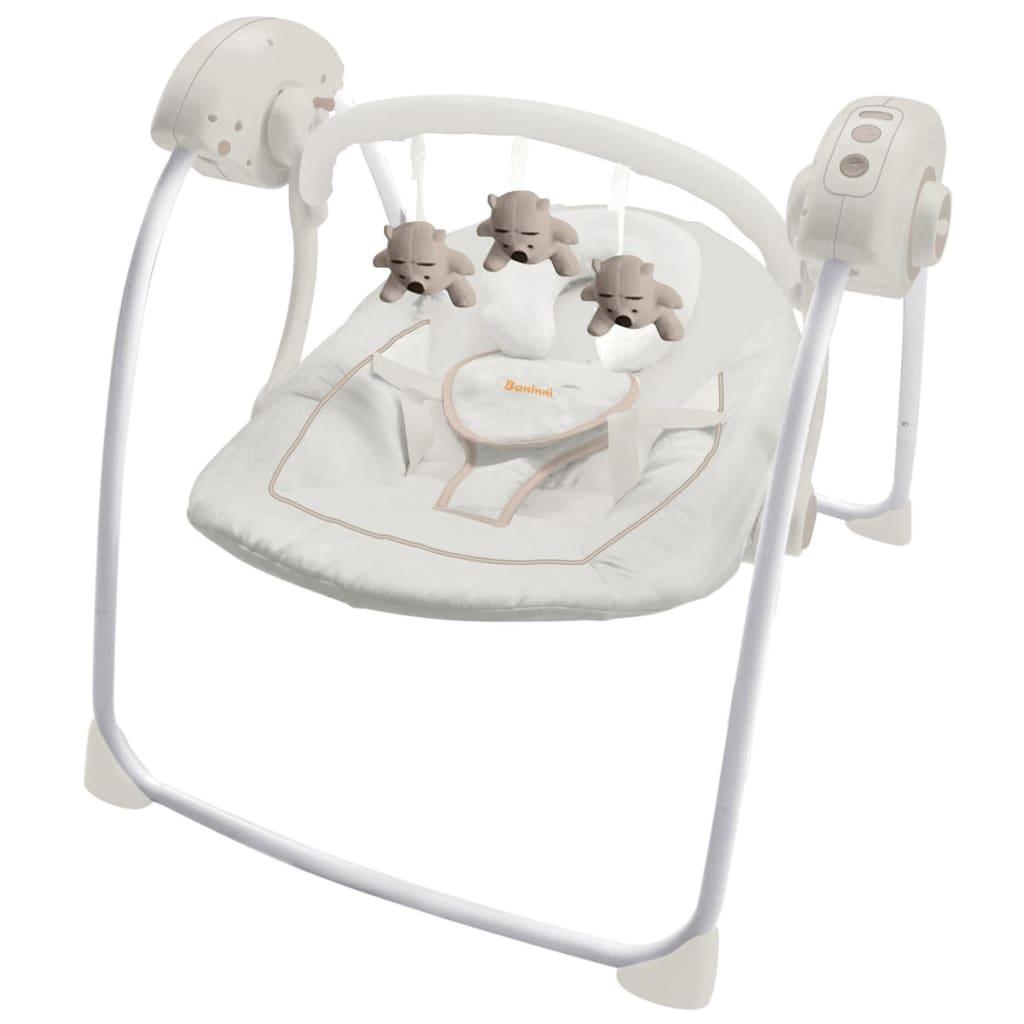 Afbeelding van Baninni Baby schommelstoel Reposo grijs BNBS002-GY