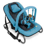 Banini Baloiço espreguiçadeira bebé Relax Classic azul BNBO002-BLHP