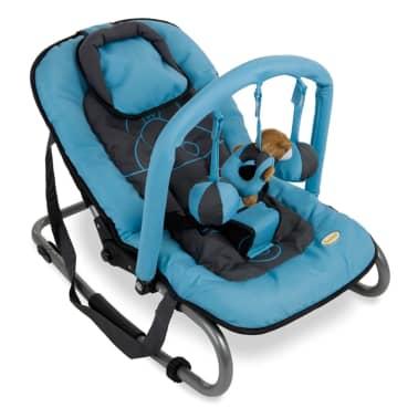 Baninni Babygunga Relax Classic blå flodhäst BNBO002-BLHP[2/2]