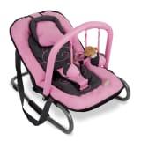 Baninni Hamaca para bebés Relax Classic hipopótamo rosa BNBO002-PKHP