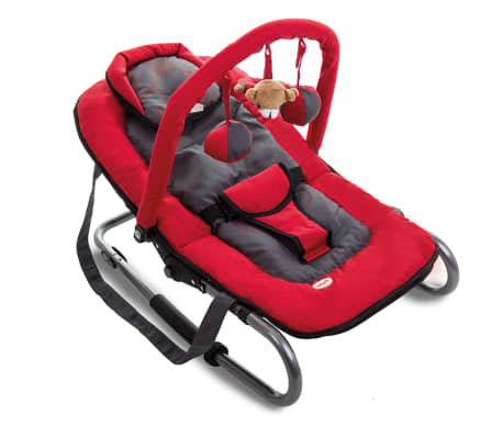 Baninni Transat pour bébés Relax Classic Rouge Hippo BNBO002-RDHP[2/2]