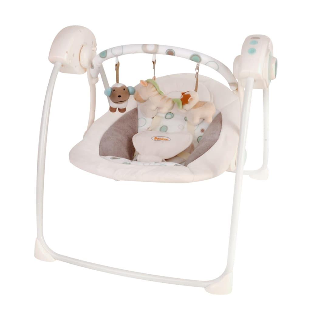 Afbeelding van Baninni Baby schommelstoel Reposo luxe beige BNBS002-BG