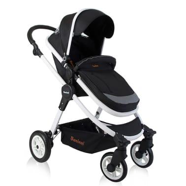 Baninni 3-1 Vaikiškas vežimėlis Ayo, juoda ir balta BNST011-WHBK[1/5]