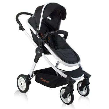 Baninni 3-1 Vaikiškas vežimėlis Ayo, juoda ir balta BNST011-WHBK[2/5]